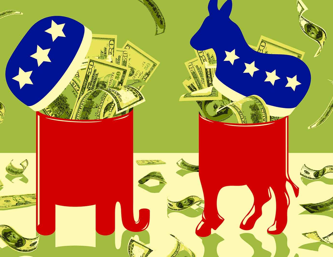 مال الشركات السياسي تحت المحاسبة